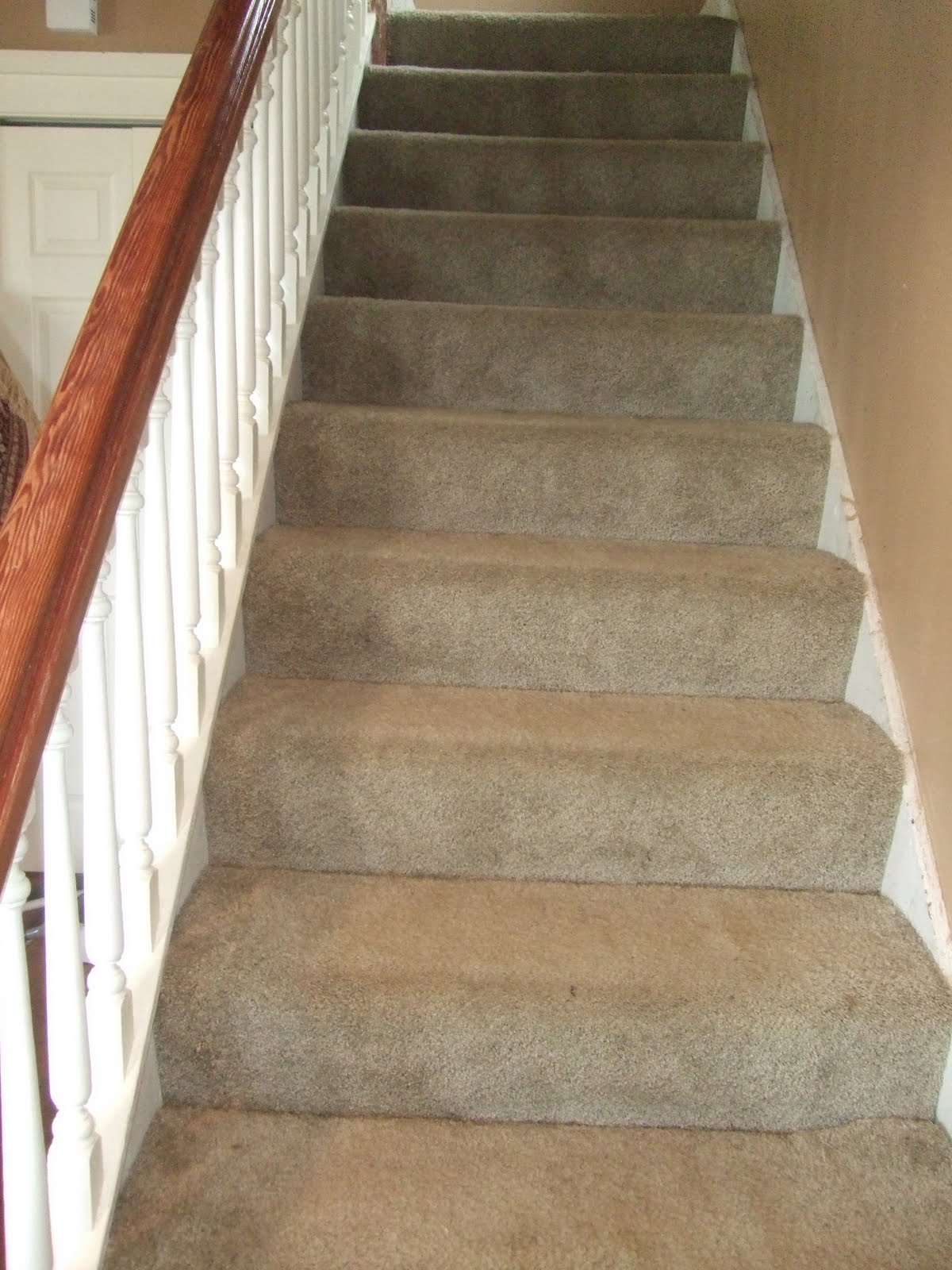 The Smiths Stairway Removing Carpet And Paint