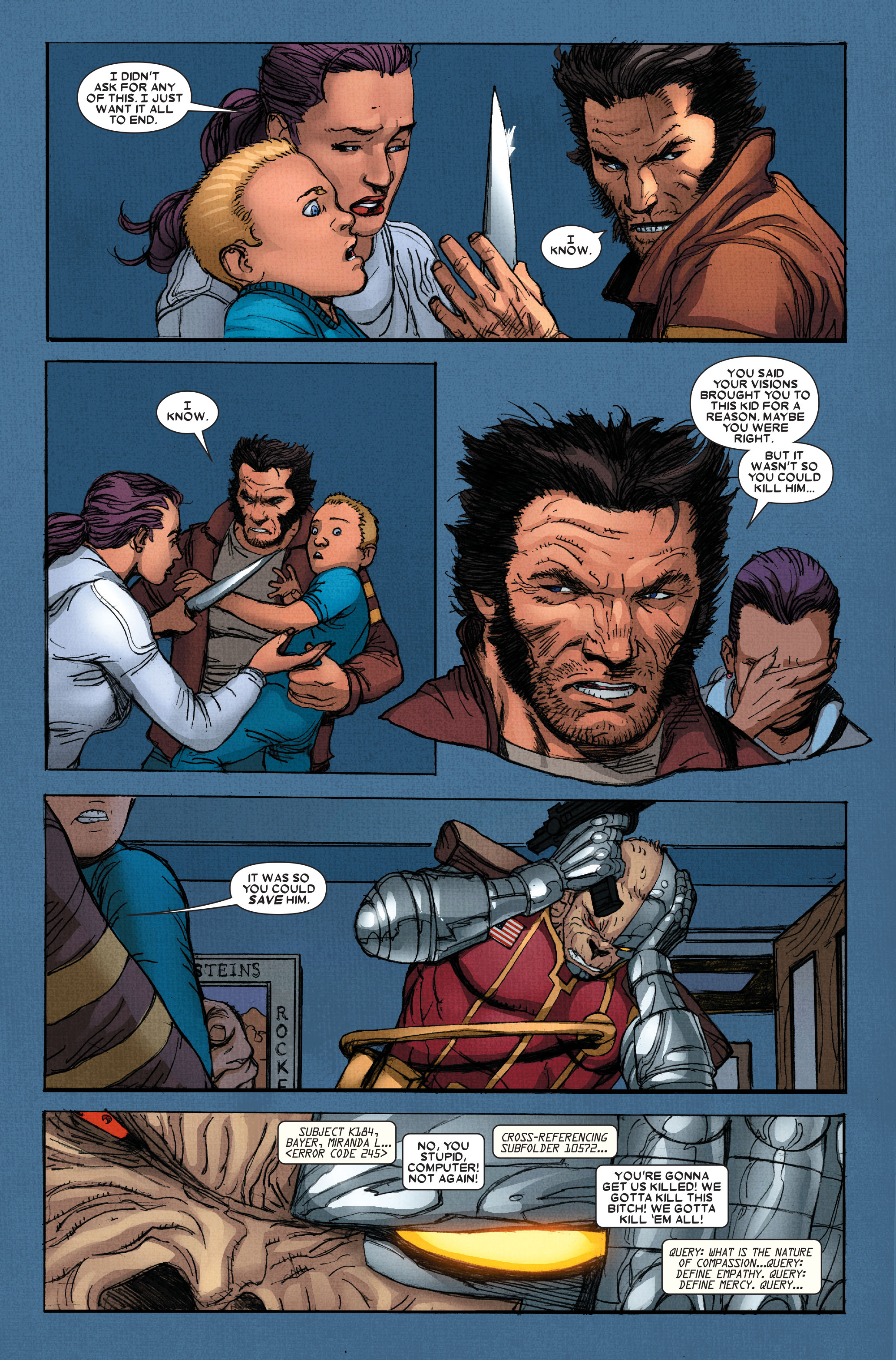 Read online Wolverine: Weapon X comic -  Issue #15 - 8