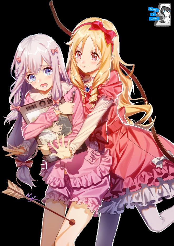 Render Sagiri Izumi & Elf Yamada