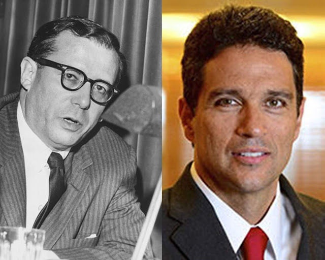 Roberto Campos e Roberto Campos Neto - criador e novo presidente do BC