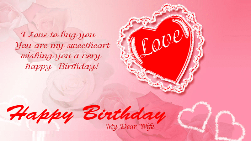 Best Images for Happy Birthday Wishes to Wife from Husband ...