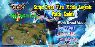 Tutorial Drone View Mobile Legends Patch Kadita Terbaru