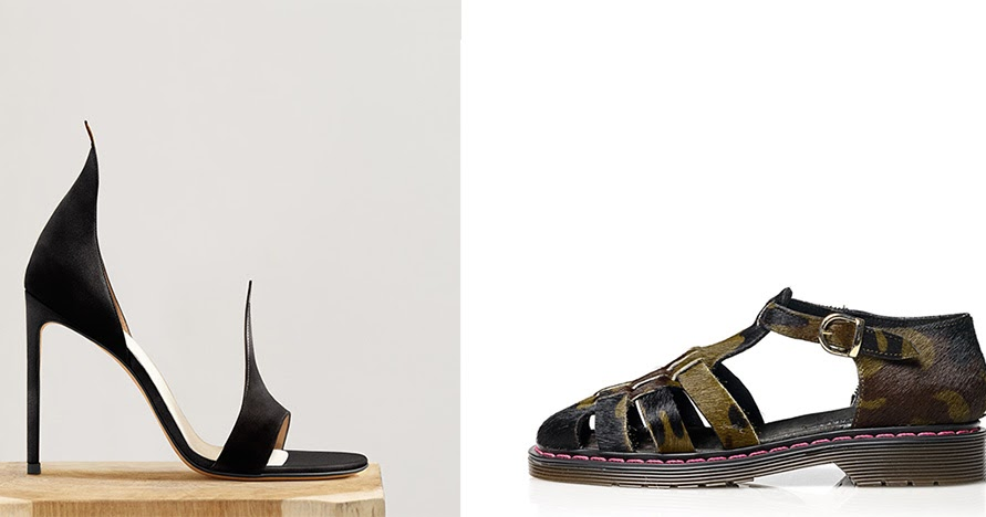 2 different shoes designers to watch