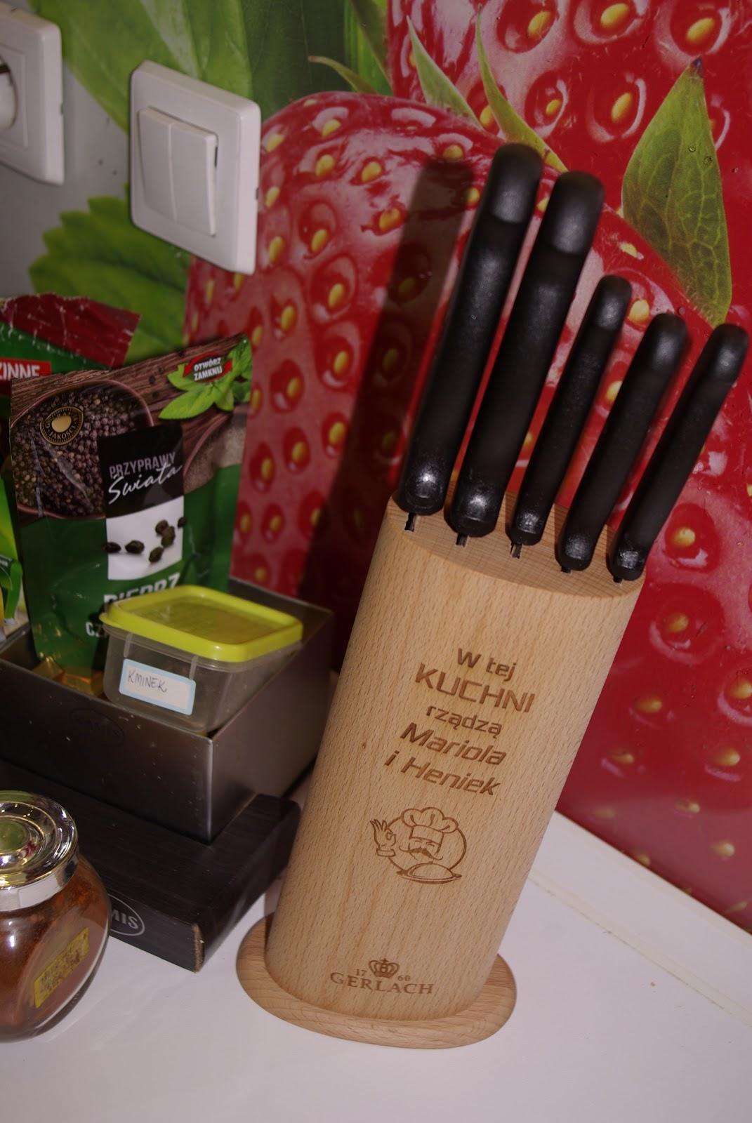 Zestaw noży kuchennych Gerlach - idealne na prezent.