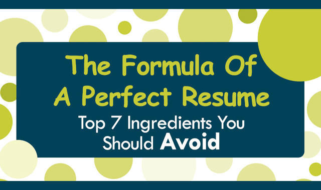 The Formula of a Perfect Resume