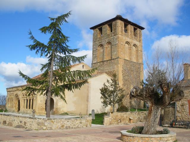 Iglesia románica de Sotosalbos, Segovia, Castilla y León, arte románico,