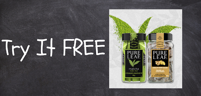 Try Pure Leaf Tea FREE