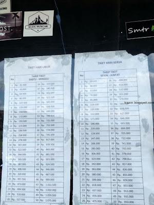 Harga Tiket Camping di Gunung Guntur