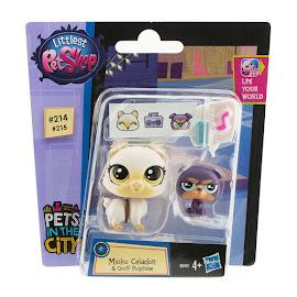 Littlest Pet Shop Pet Pawsabilities Gruff Pugstone (#215) Pet
