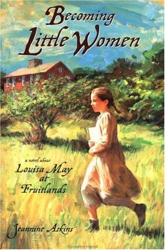 Reading 'Becoming Little Women: Louisa May at Fruitlands Farm: Louisa May at Fruitlands' this June for the LMA reading challenge!