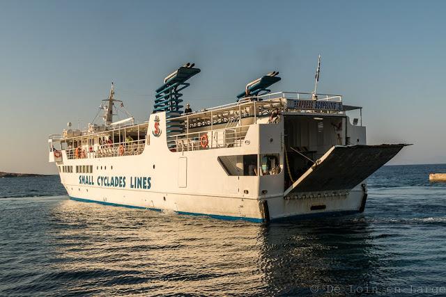 Donoussa à Koufonissia-Express Skopelitis-Cyclades