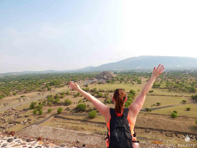 My Travel Background : les items de ma Bucket List - Monter les marches des pyramides au Mexique