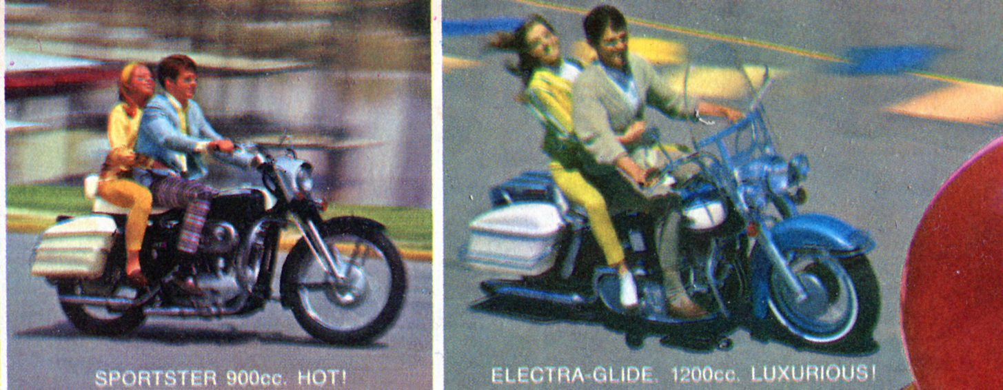Retro Flashback Feature Those Harley Davidson Babes Early 1972 Golf Cart Wiring Diagram No Matter What Bike Always Made The Woman A Passenger And Squeaky Clean One At That Its Never Ending Elvis Movie According To
