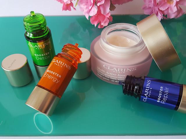 Clarins - Booster Energy, Repair e Detox