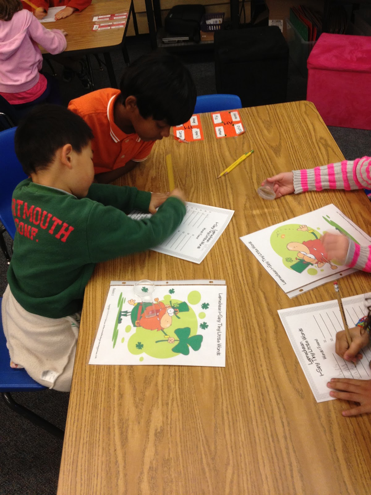 For The Love Of Kindergarten Partner Of The Day And Spring Behavior Management