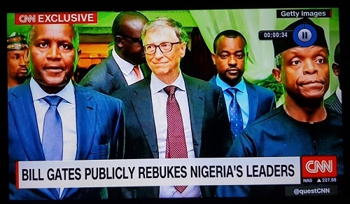 Why I Spoke Directly To Nigerian Leaders - Bill Gates