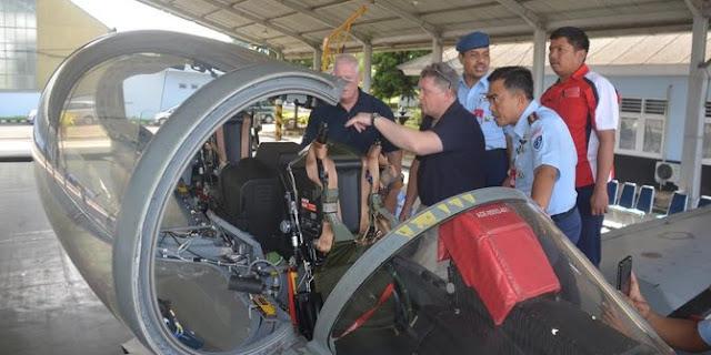 Kursi Pelontar Super Tucano Jalani Pengecekan dan Pemeliharaan oleh Tim MBA Inggris