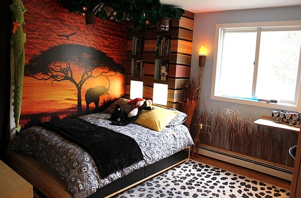 Add indigenous animals  in African Living Room