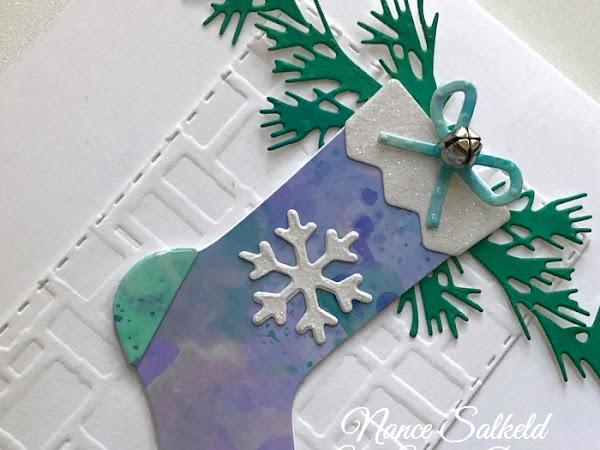 CAS Christmas - Stocking