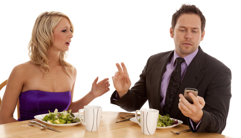 phubbing? smartphone ruins relationship