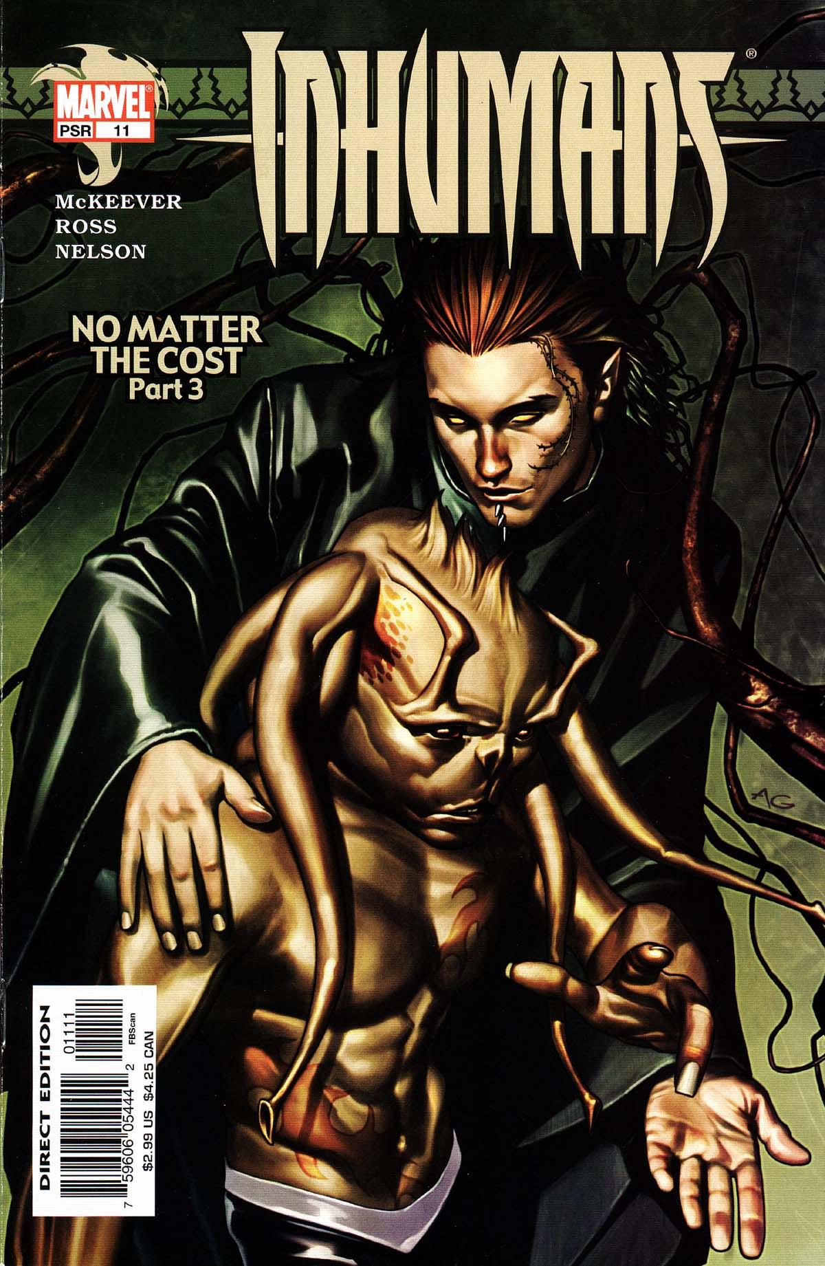 Inhumans (2003) 11 Page 1