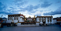 CONSECRATED TIBETAN MONASTERY CATCHES FIRE, NO REPORTS OF CASUALTIES