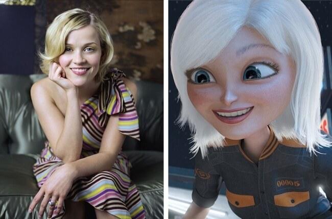 Os desenhos do cinema inspirados em estrelas de Hollywood