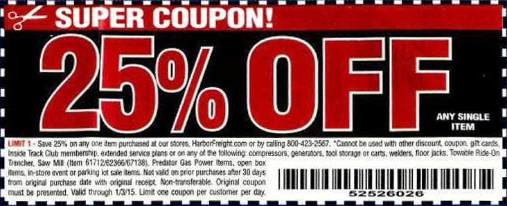 picture about Trifexis Printable Coupon known as Hf coupon code / Chase coupon 125 income