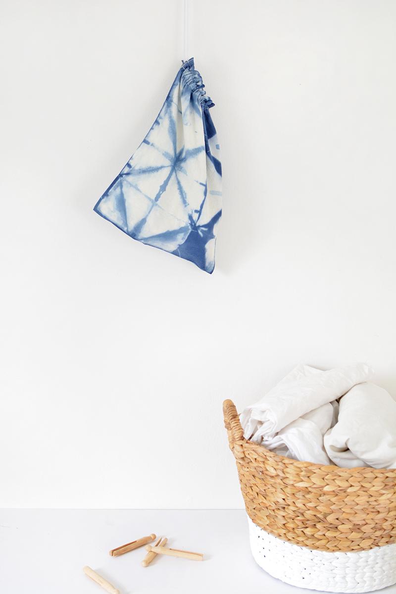 how to shibori dye fabrics