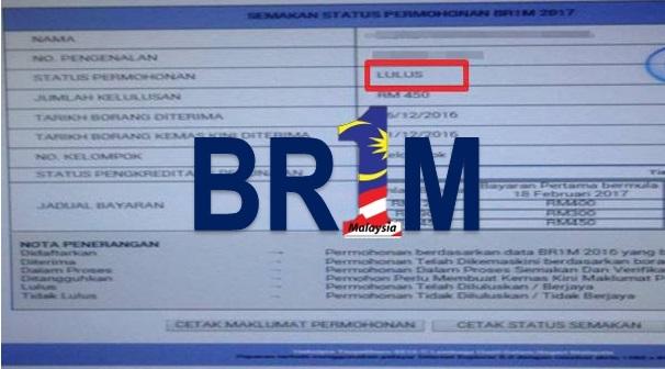 Status Permohonan BR1M Lulus Tapi Duit Tidak Masuk? Baca Ini Dulu…