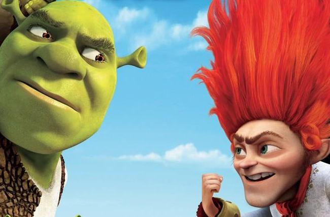 Shrek Forever After Shrek and Rumpelstiltskin