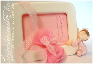 bomboniere battesimo rosa