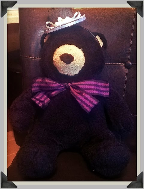 """When Your """"Ouji Accessory"""" is a Teddy Bear..."""