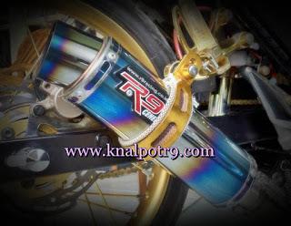 Cara Mudah Bongkar Knalpot R9 Pada Motor