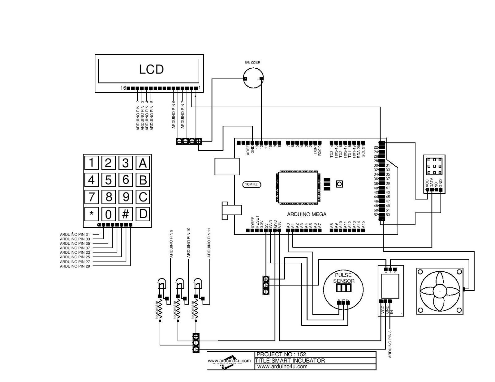 Projek Elektronik Arduino4u 152 Smart Incubator