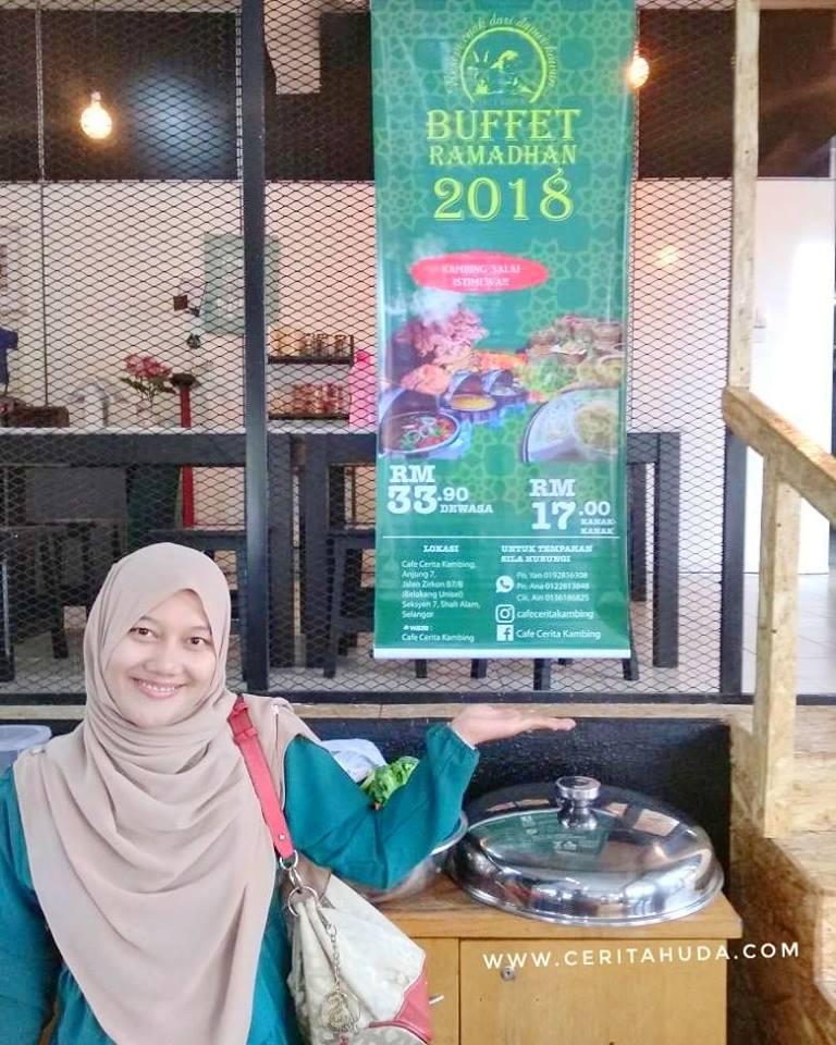 Buffet Ramadhan Murah di Cafe Cerita Kambing, Shah Alam