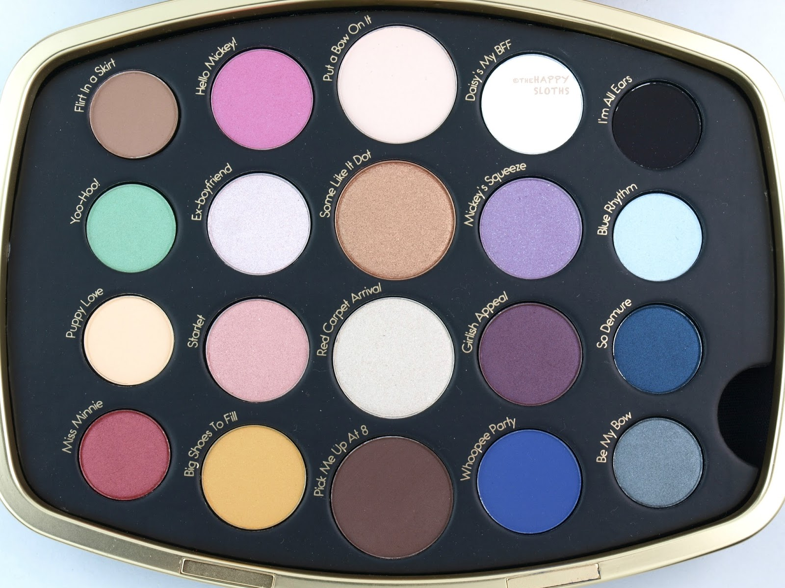 sephora makeup eyeshadow palette. sephora minnie mouse collection minnie\u0027s world in color eyeshadow palette: review and swatches makeup palette