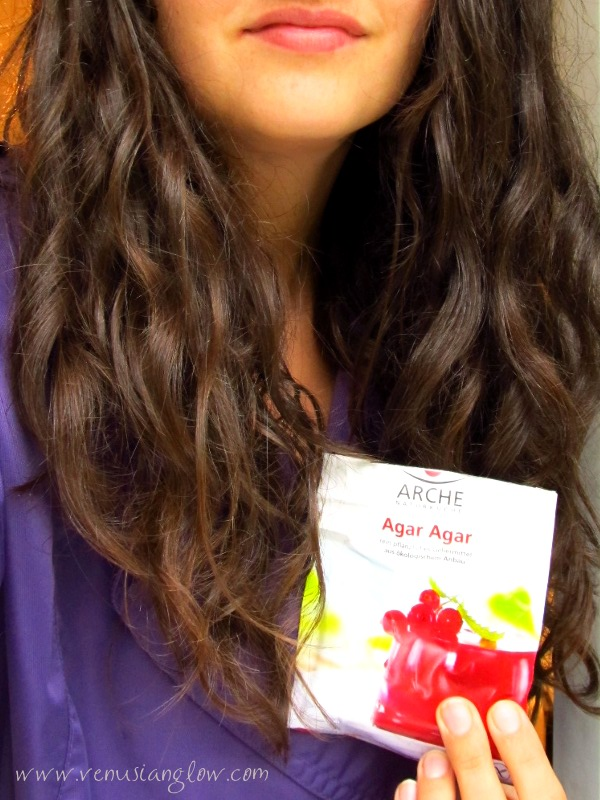 90b8ae11836 DIY  Agar Agar Hair Rinse For Shine And Hold -- Great Alternative To Honey