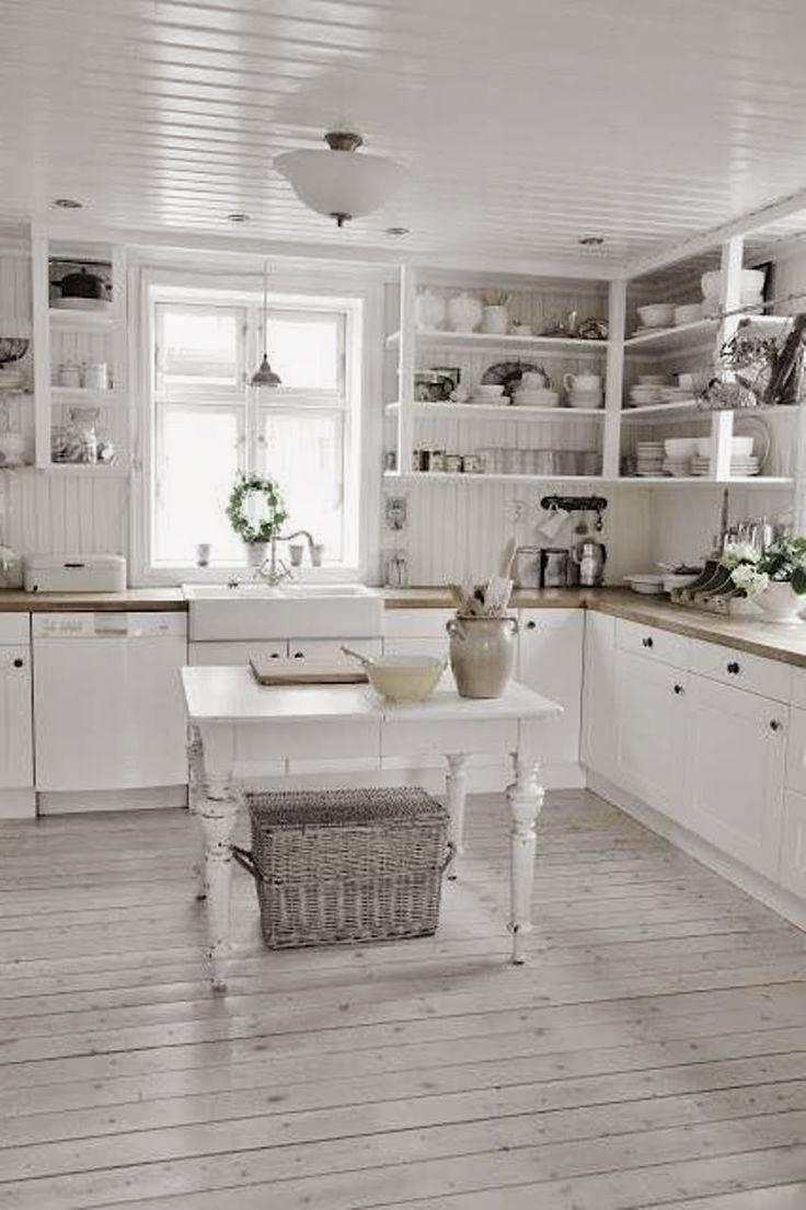 Piastrelle Cucina Shabby.Come Pulire Le Piastrelle Della Cucina I Nuovi Materiali