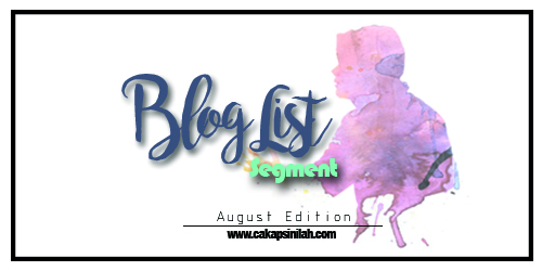 Blog Segmen: Blog List Segment - August Edition by DA
