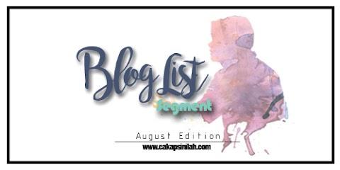 Blog Segmen: Blog List Segment - August Edition by DA