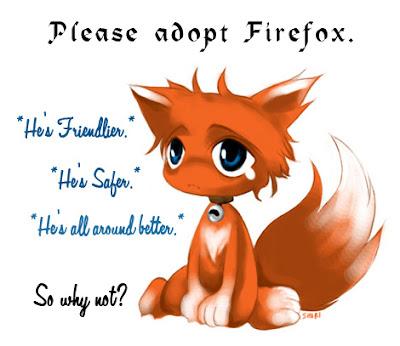 Adopt Firefox Logo