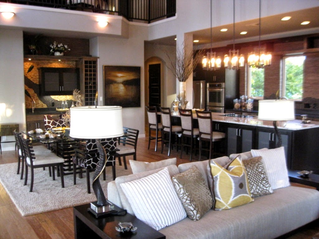 Small Open Kitchen And Living Room Ideas - Amazing Bedroom, Living
