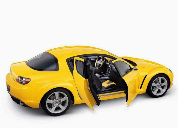 New Yellow Mazda Rx8 Hd Wallpaper Sport Car Pictures