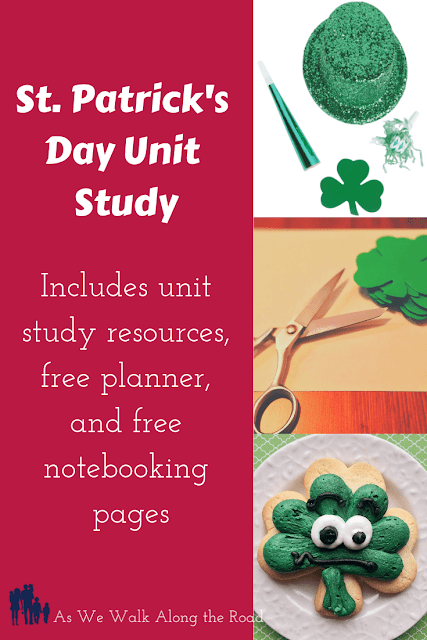 St. Patrick's Day Unit Study