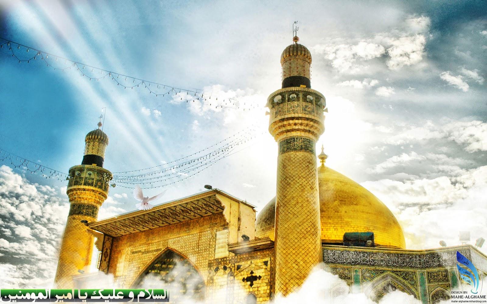 Maula Ali Shrine Wallpaper: Chak 36 N.B: Roza Imam Hussain A.s Picture