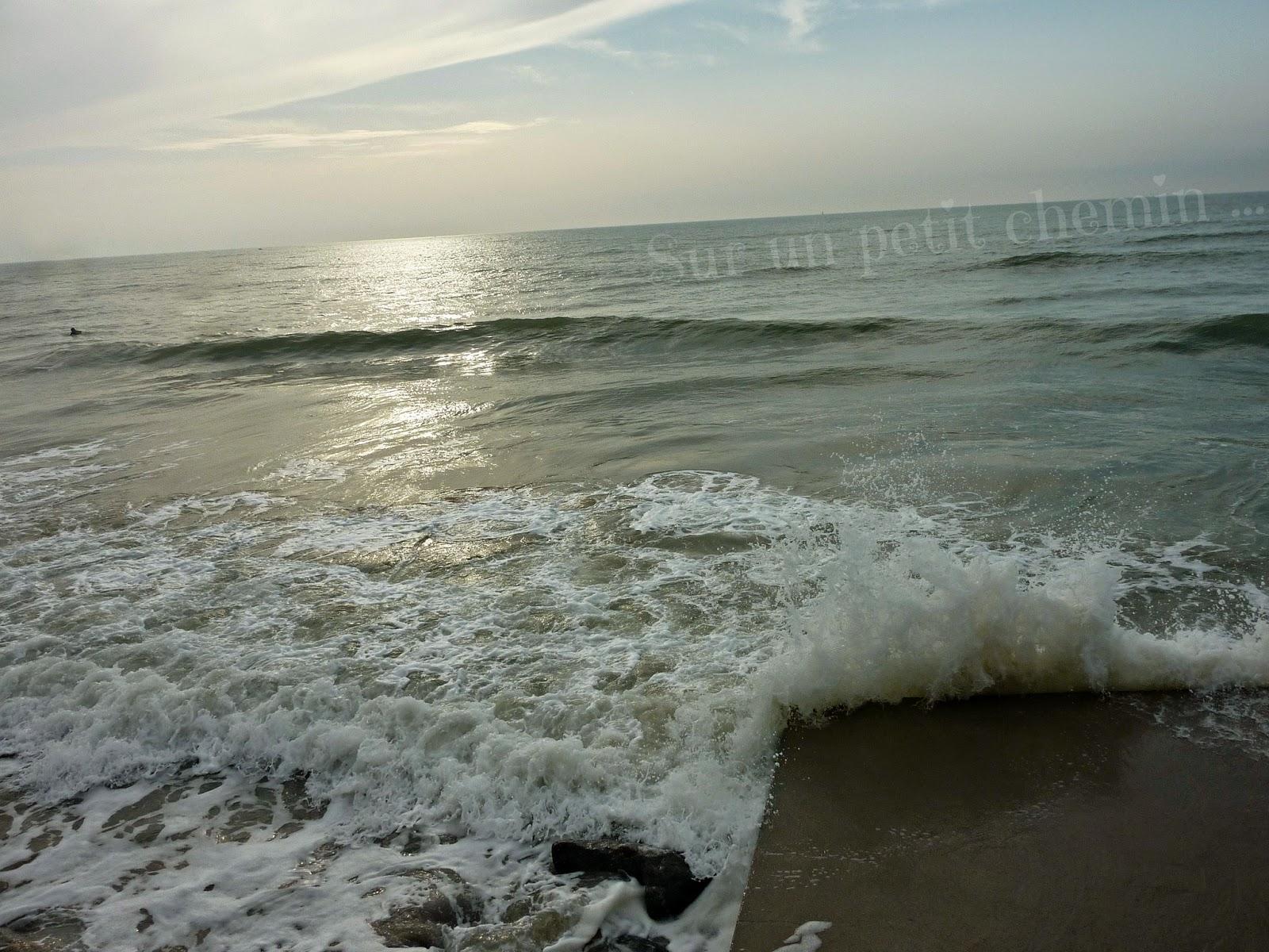 Les bras de la mer - Marée montante - Grande Plage de Saint Gilles Croix-de-Vie en Vendée