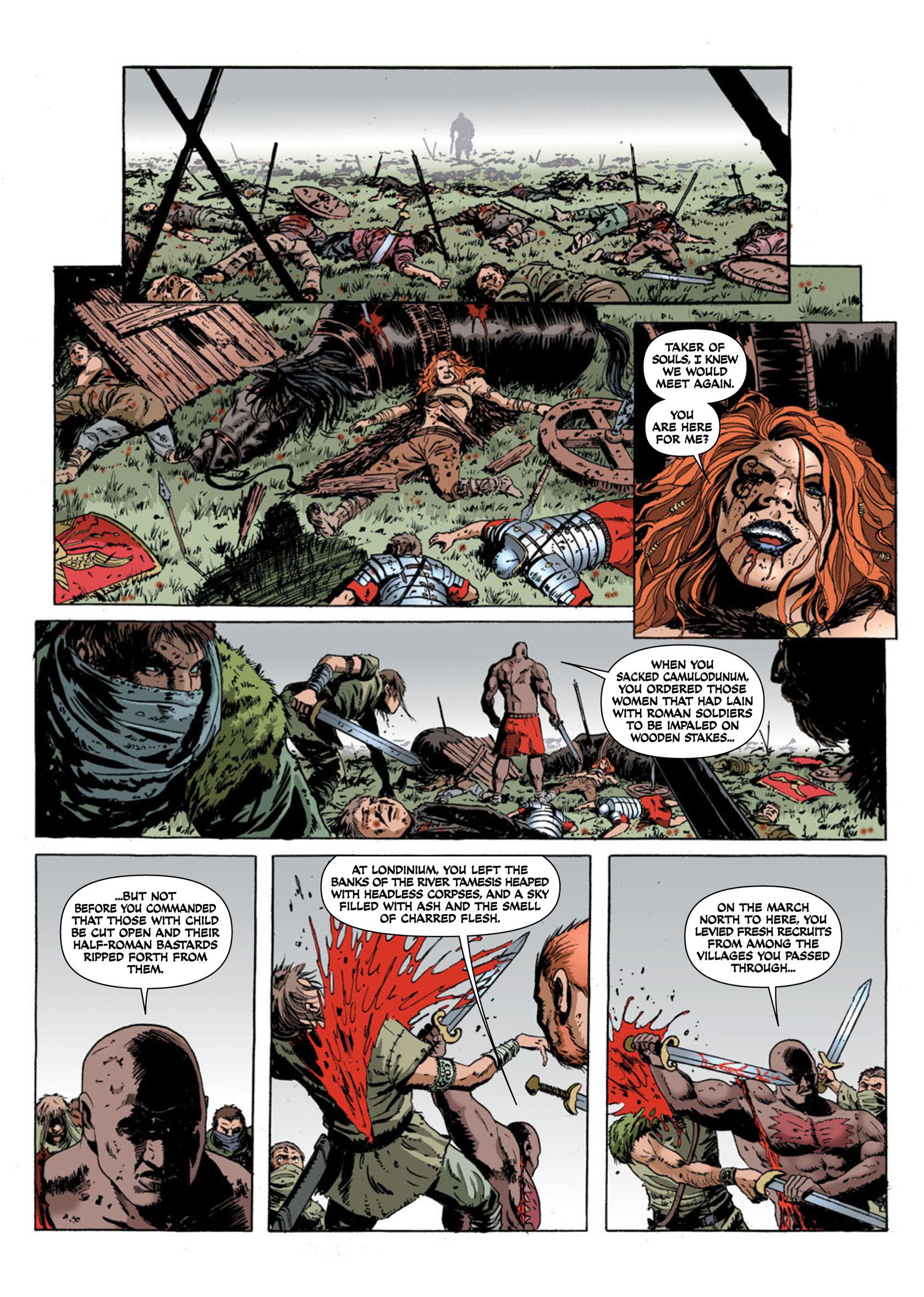 Read online Aquila comic -  Issue #2 - 20
