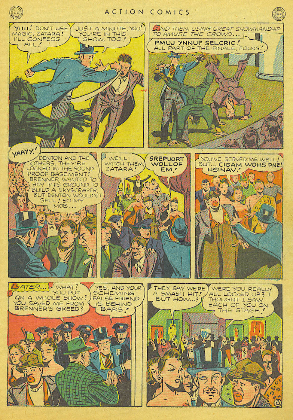 Read online Action Comics (1938) comic -  Issue #91 - 49