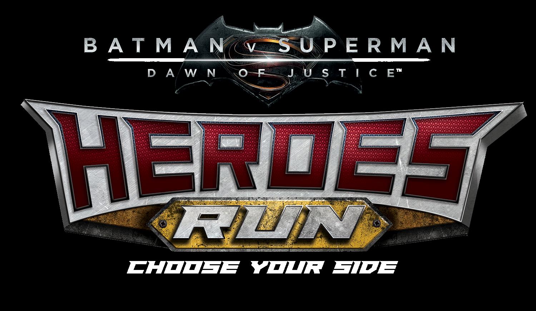 Heroes Run Takes On Batman V Superman April 9
